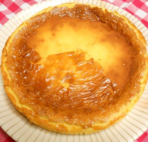 簡単チーズケーキ9