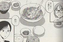 卵だらけの朝ご飯図