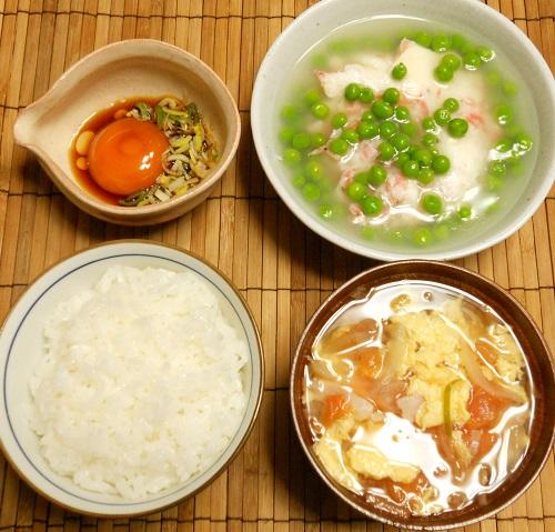 卵だらけの朝ご飯12