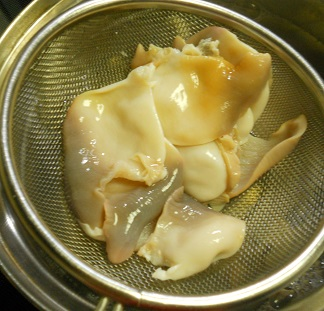 国崇特製・ホッキ貝のカレー丼4