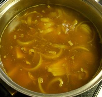 国崇特製・ホッキ貝のカレー丼10