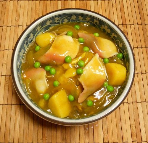 国崇特製・ホッキ貝のカレー丼12