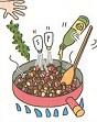 最初からご飯と具を炒めるのではなく、後から入れて混ぜご飯風に仕上げるのがポイント