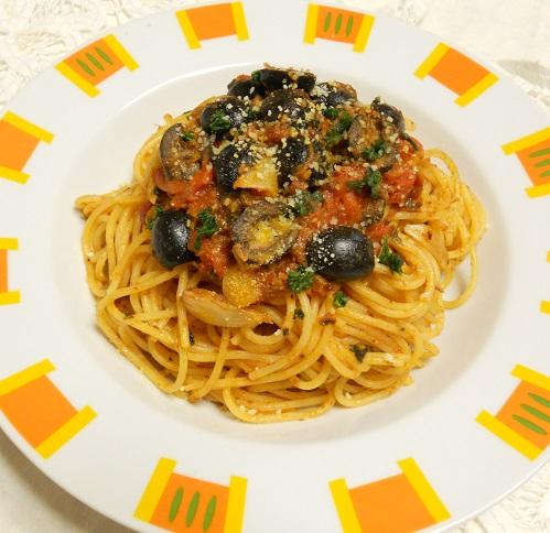 トニオさんの娼婦風スパゲティ5