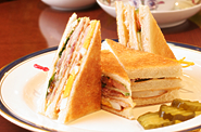 ホシヤマ珈琲クラブハウスサンドセット