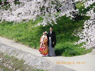花嫁と花婿2