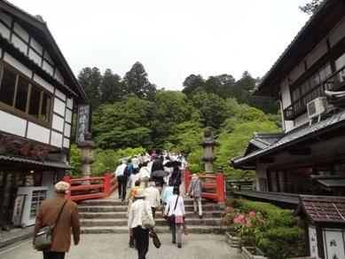 室生寺に向かう途中