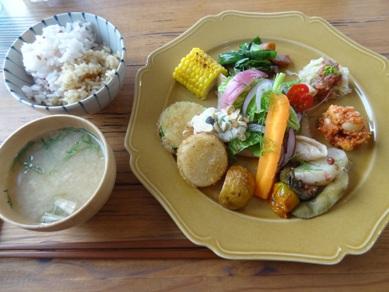 畑のお惣菜プレート