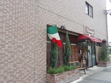 トラットリア リッカリーナのお店の外観
