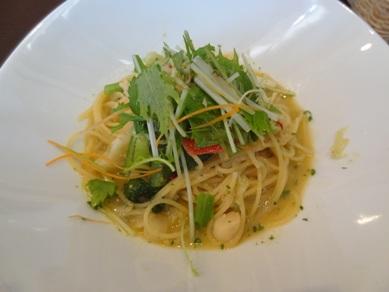 貝柱とトマトのスパゲティ