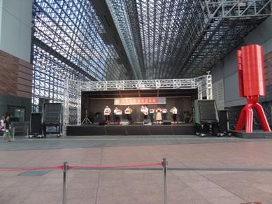 京都駅のコンサート