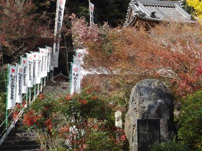 円興寺の紅葉7