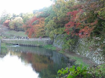 彦根城 玄宮園へ