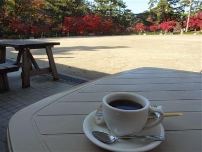 岡崎市東公園 売店コーヒー