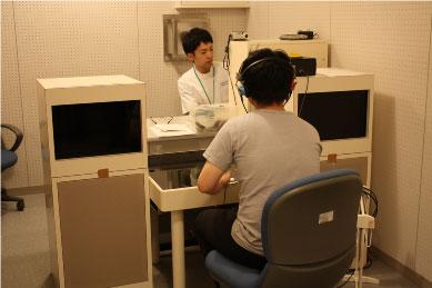 【言語聴覚士科】聴力検査の体験