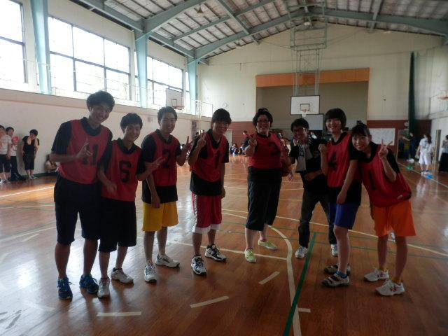 学祭H25バスケ1年