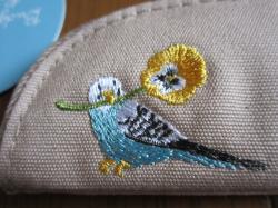 ペンケース刺繍