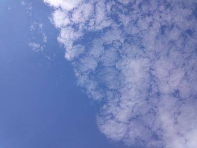 2012/9/29 ミサちゃんからの空の写真