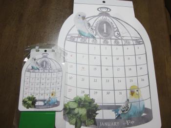鳥さんカレンダー
