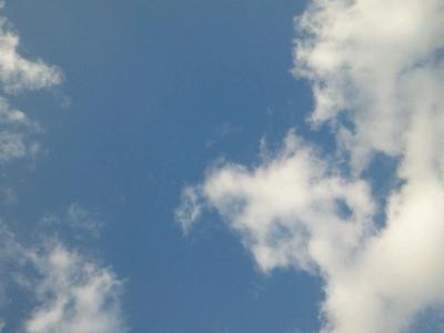 ゆま母さんからの空の写真