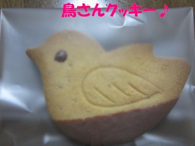 鳥さんクッキー♪