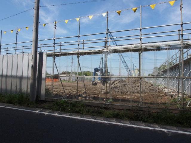 上越新幹線高架下から菖蒲PA方面。