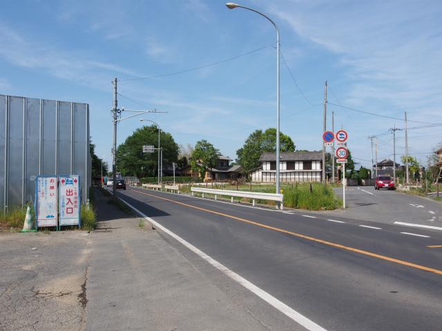 川越栗橋線。ここもいずれは。