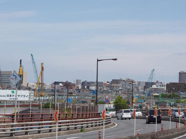 京葉道路方面。