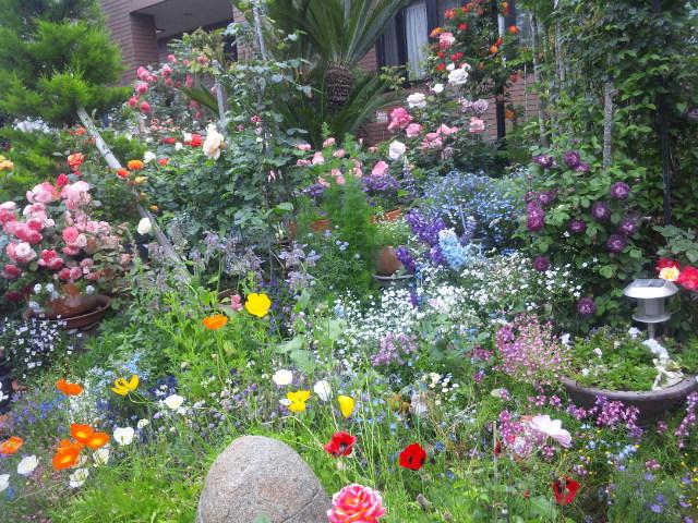 テーマのある庭