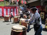 IMG_0863 ④ 関所祭りの太鼓