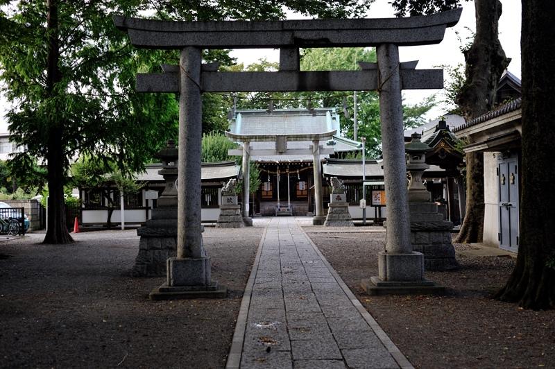 北野神社参道