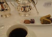 カフェと小菓子