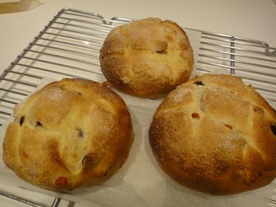手作りパン♪ベリーベリー