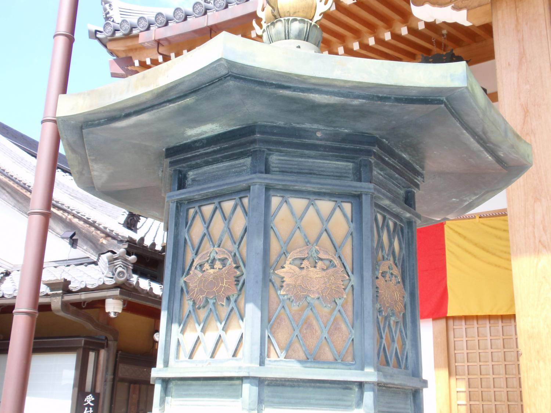 蟹満寺・常夜灯