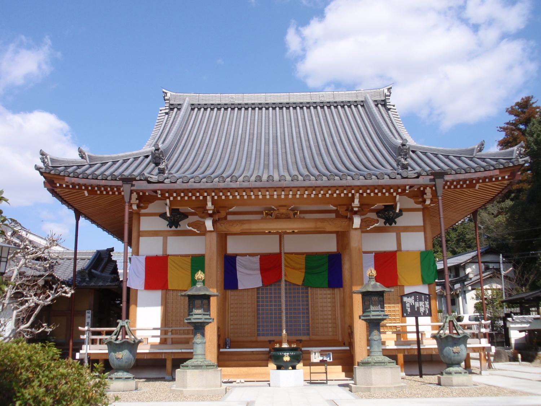 蟹満寺・本堂
