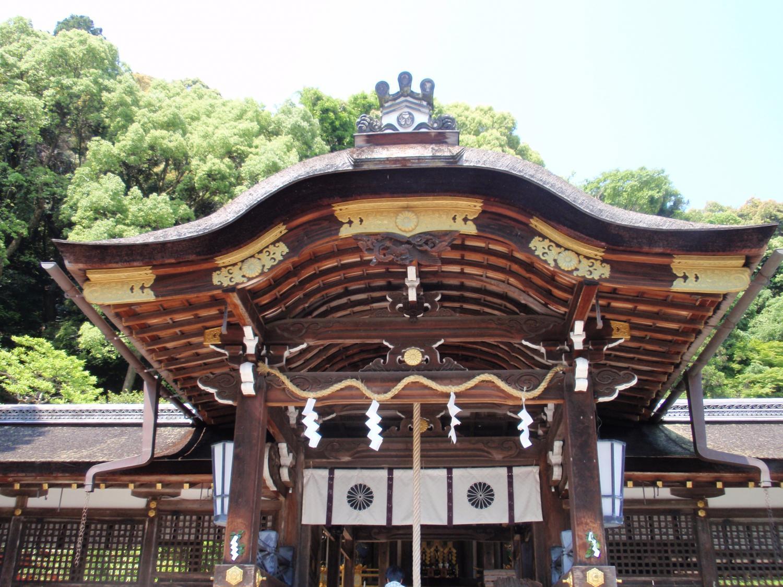 松尾大社・拝殿