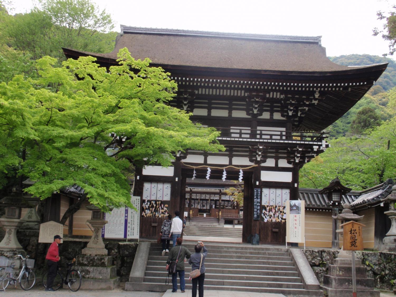 松尾大社・楼門