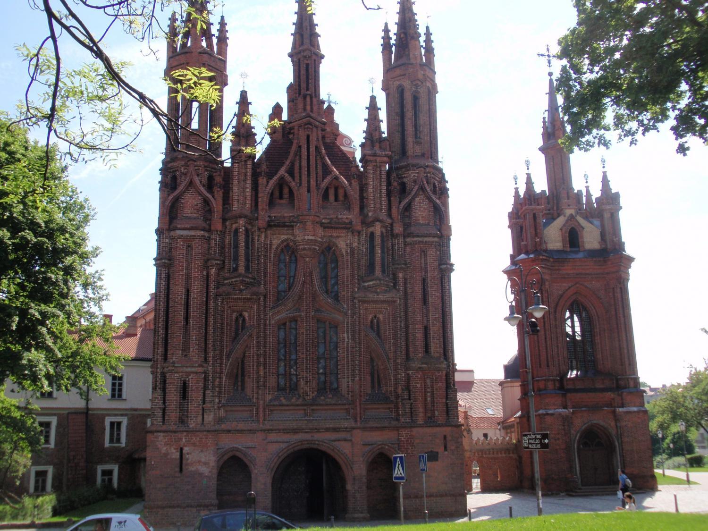 ヴィリニュス・聖アンナ教会