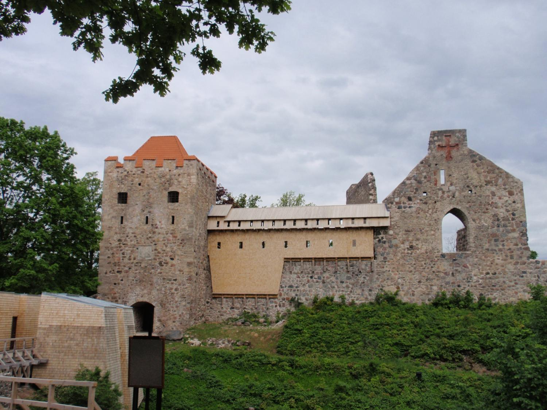 ラトビア・スィグルダ城跡