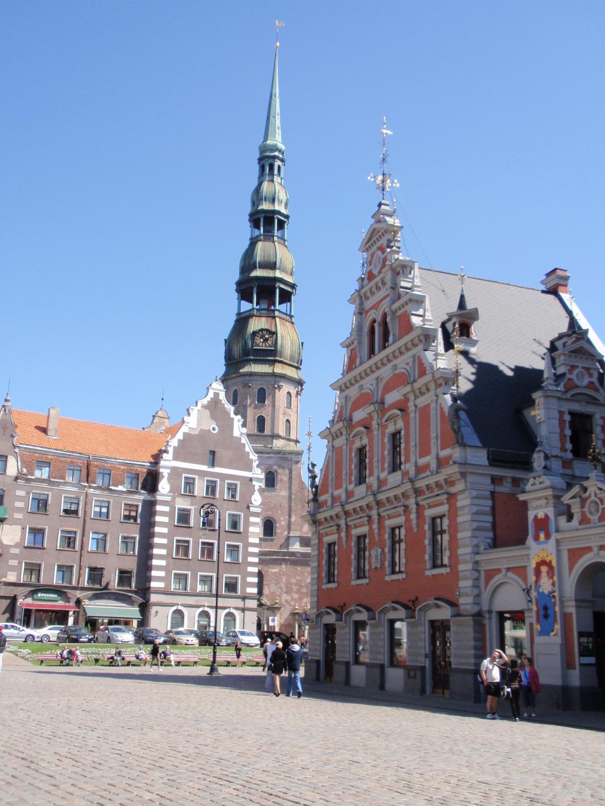 ラトビア・リガ旧市街