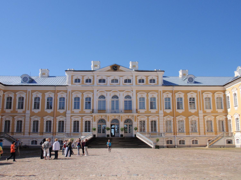 ラトビア・ルンダーレ宮殿