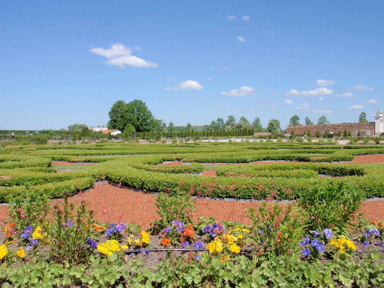 ラトビア・ルンダーレ宮殿庭園