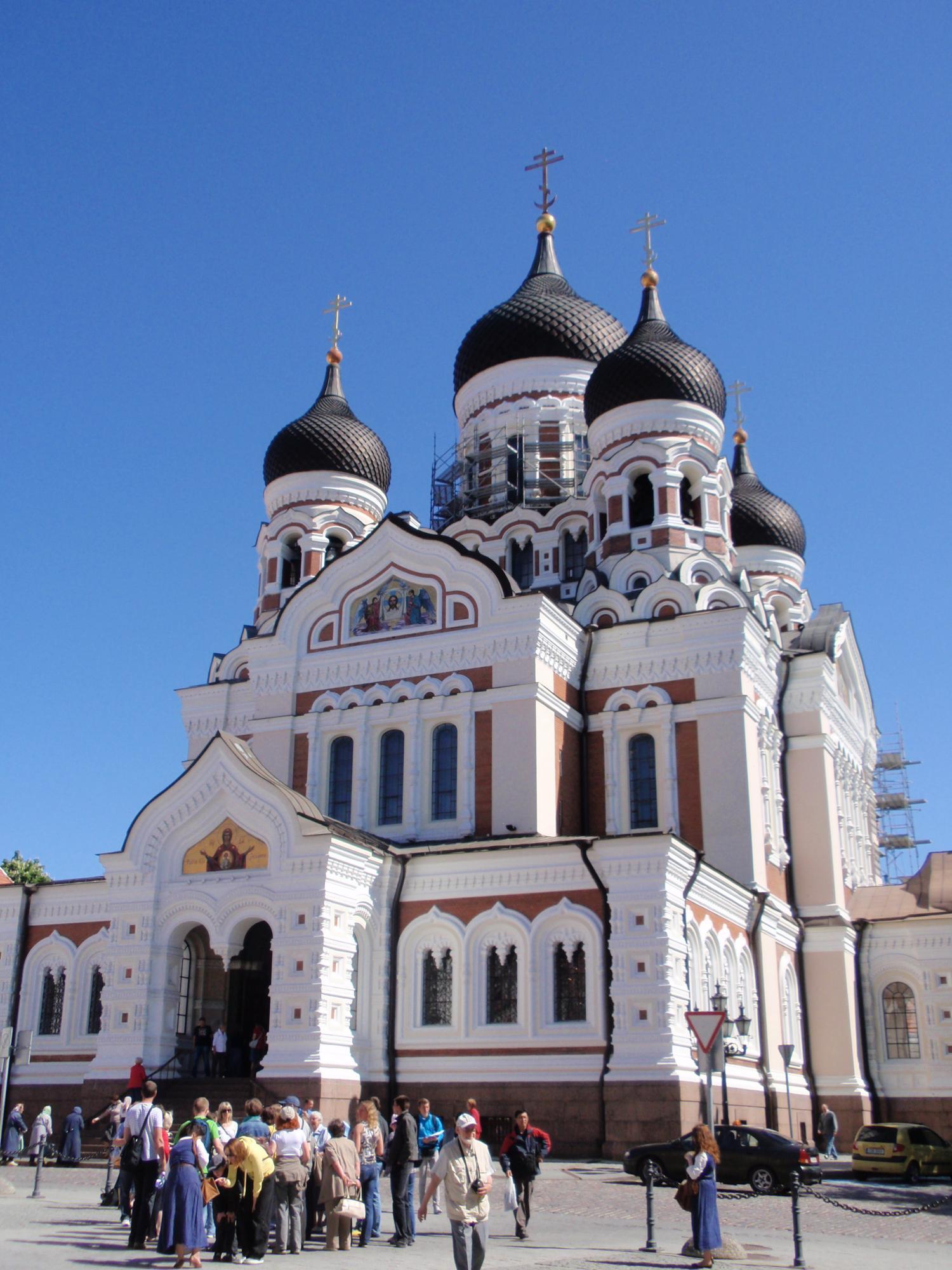 エストニア・アレキサンドル ネフロスキー教会