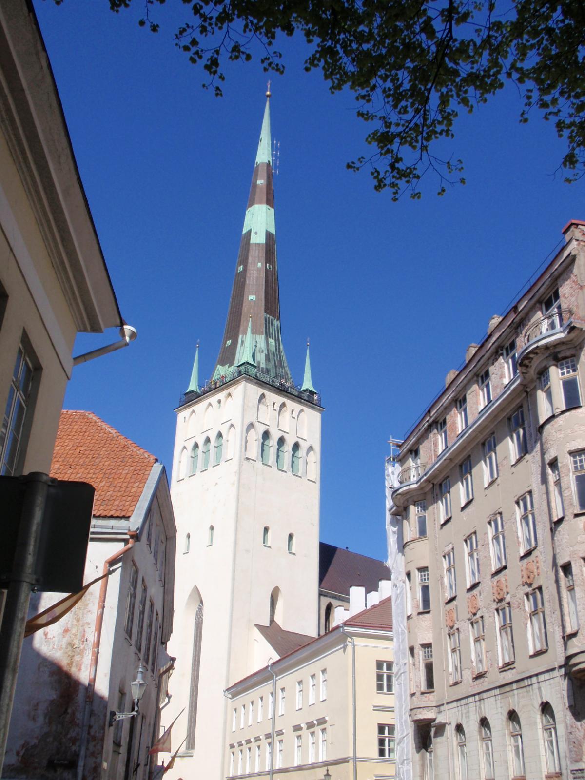 エストニア・聖オレフ教会