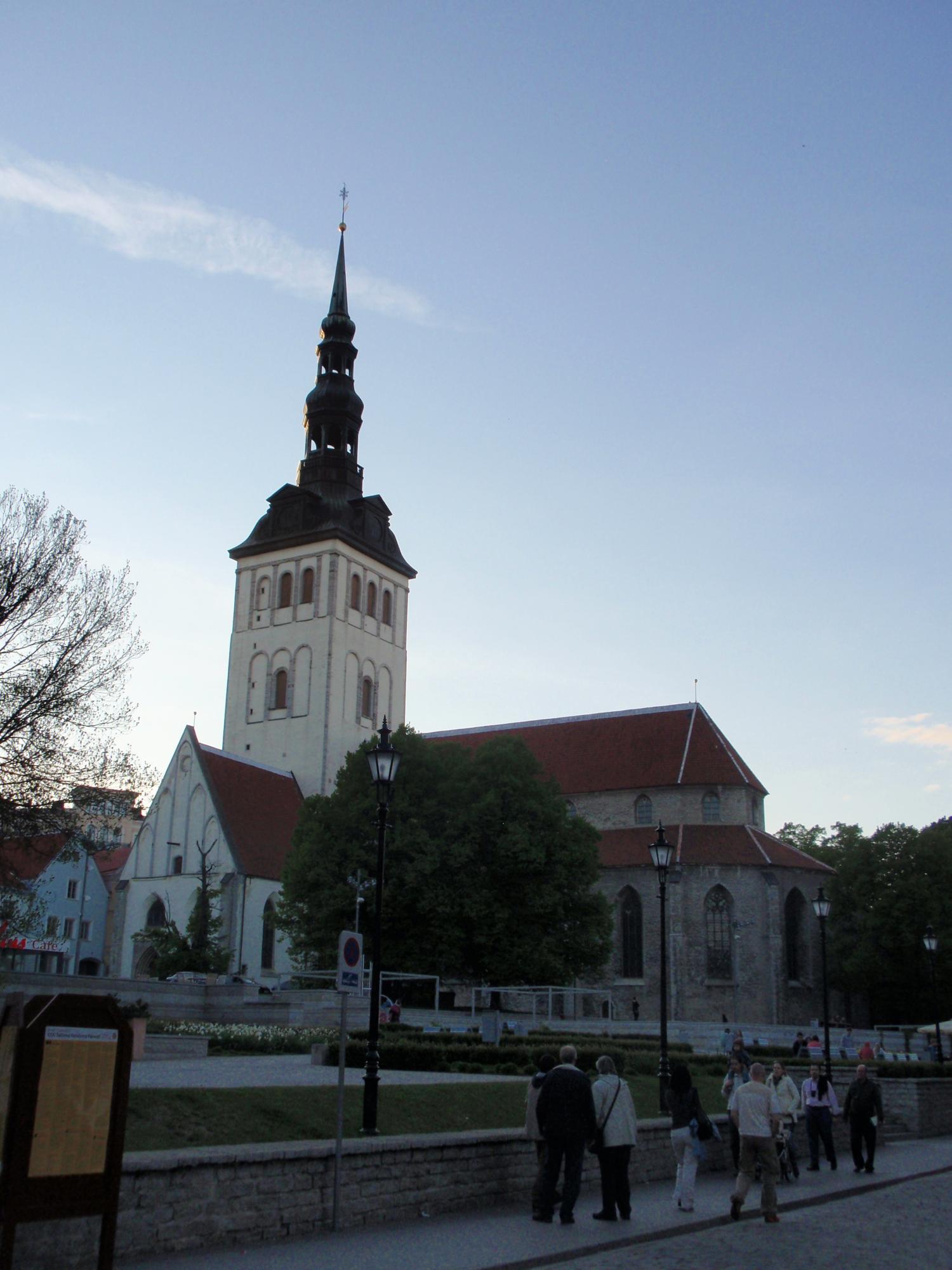 エストニア・聖ニコラス教会