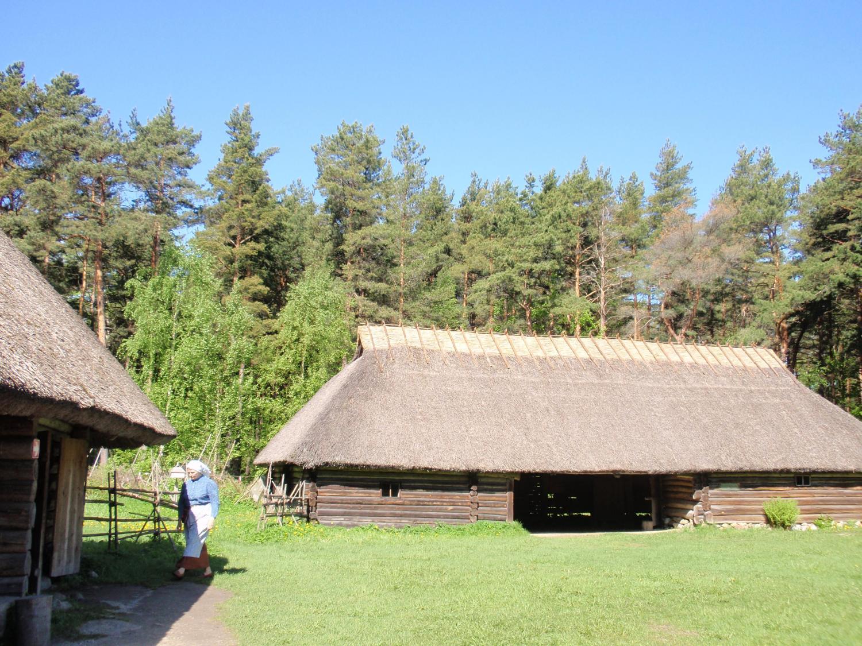エストニア・野外博物館