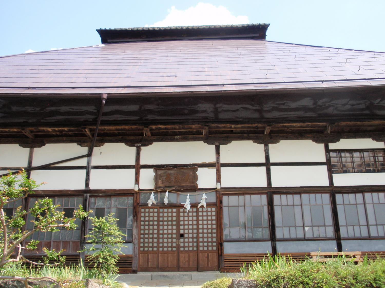信州大法寺・本堂