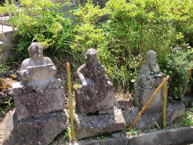 信州大法寺・羅漢像