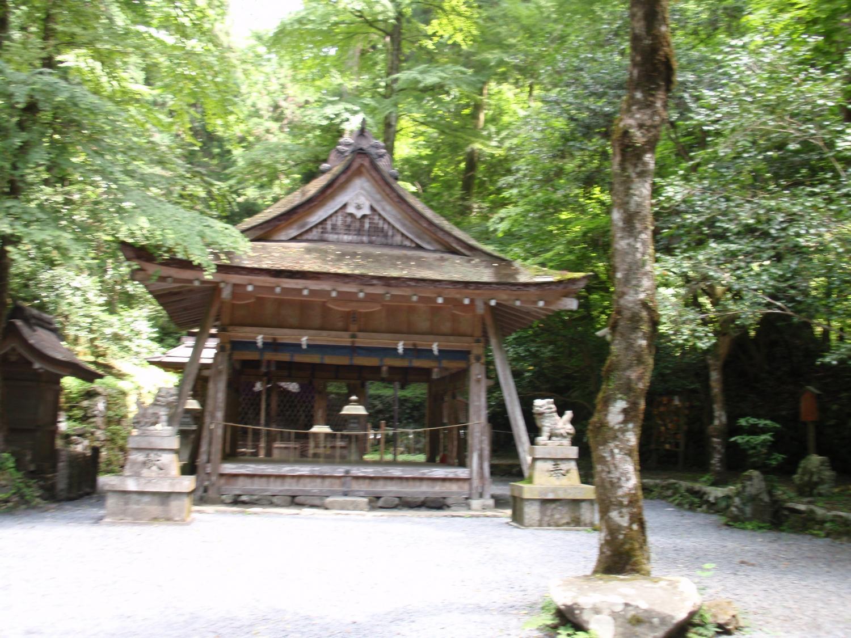 貴船神社・奥の宮本殿