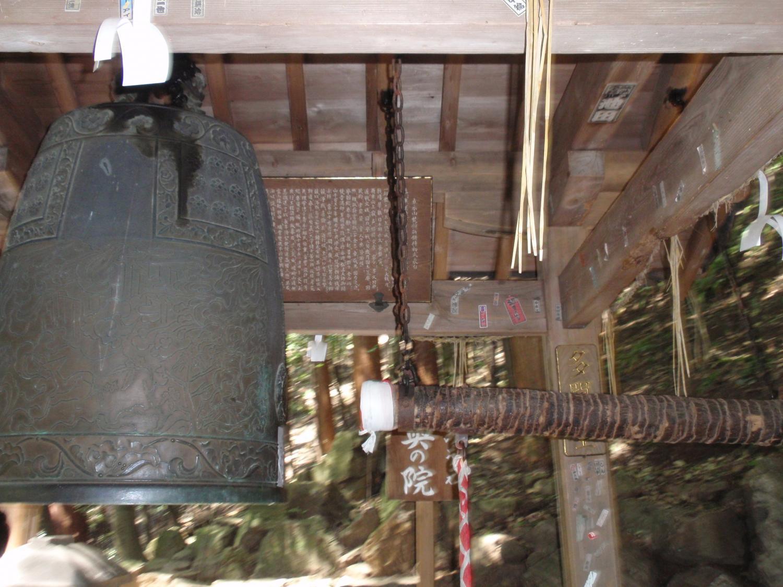立木観音・鐘楼